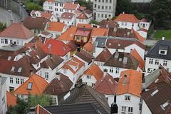 Bergen, Norway rooftops
