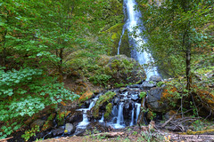 0256 Starvation Creek Falls (vincentlouis) Tags: park camping trees summer plants water oregon creek forest river waterfall rocks picnic columbia falls gorge starvation