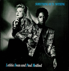 Letitia Dean and Paul Medford - Something Outta Nothing (The Downstairs Lounge) Tags: television tv soap vinyl 45 bbc single record eastenders