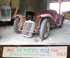 1934 MG PA (blackwatch55013) Tags: classiccar mg 1934 mgpa