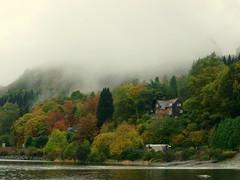 Autumn Mist (R D L) Tags: oct perthshire lochearn 2013