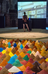 Sudamerica (Marioiks) Tags: venice art colors museum modern arte contemporary di museo biennale venezia galleria cones spezie sudamerica darte powders 2013