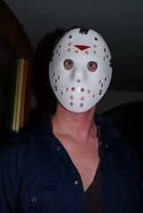 Murder Mystery Night (spikeybwoy - Chris Kemp) Tags: party jason halloween mystery costume mask celebration killer murder fancydress fridaythe13th jasonvoorhees