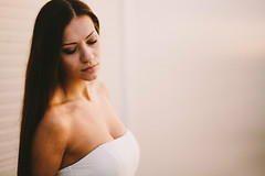 Beautiful model Lucia (marekhambalek) Tags: light portrait beautiful canon model natural mark 85mm ii lucia 5d  18f