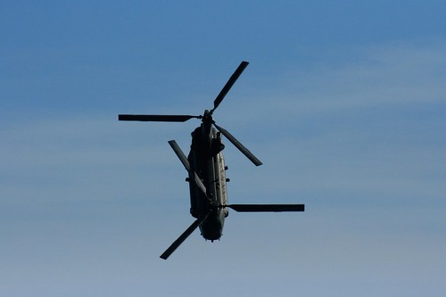Diving Chinook 2