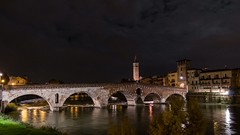 Notturno a Ponte Pietra (drugodragodiego) Tags: italy panorama water architecture reflections landscape town pentax cities verona ripples nightscene acqua riflessi streetview k5 urbanlandscape notturno veneto greatphotographers pentax1650 smcpda1650mmf28edalifsdm pentaxiani pentaxart pentaxk5 pentaxflickraward pentaxk5iis k5iis romamor2014dicembre