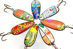 DSC_0419 (teddmcdonah) Tags: handmade spoon recreation spoons repurposed trm fishinglure 2013 studiocraft tincanart teddmcdonah fineartofthetincan originalrecyclures