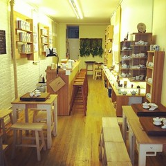 Traditional Chinese tea house featuring only teas from the true origins - the specific location where a specific tea is the best.  This is the first and only one of its kind in NYC (teadrunknyc) Tags: nyc cute tea zen tradition teahouse authentic chinesetea