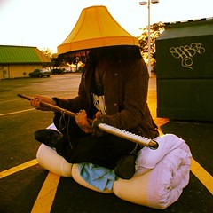 Look who I ran into getting coffee!   The #DumpsterSamurai !!! Good thing I had my camera.  #5DollarPhotoshoot #TownNCountry #Hillsborough #TampaBums #SamuraisHateRobots #AChristmasStory #sword #katana #bumfights #samurai #funny #scary #weird #random #sun (MohawkCrew) Tags: square squareformat lordkelvin iphoneography instagramapp uploaded:by=instagram foursquare:venue=4b7d9eeaf964a5204fca2fe3
