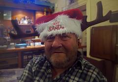 Antlers (The Image Den) Tags: christmas portrait hat bar fun pub availablelight character indoor antlers alcohol bp canons100 twinklyeyes festivefun avinalarf fooster bitterneparkhotel textsanta