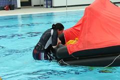 RYA Sea Survival Training (arrancat) Tags: training escape spray course swimmingpool experience survival henley lifejacket marlow liferaft courses highwycombe coldwater rya oxfordhsire oceanrowing seasurvival navigationschool coldshock oceansproject bishamabbeysailing