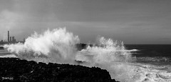 .: Angry Ocean :. (.: belghiti :.) Tags: ocean sea sky storm beach clouds photography rocks waves photographie wind abdo belghiti vision:mountain=0776 vision:clouds=0883 vision:sky=0834 vision:outdoor=0979