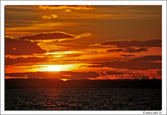 El Gran Sol (© Marco Antonio Soler ) Tags: sunset sea sun sol beach clouds contraluz landscape atardecer mar nikon mediterranean mediterraneo 14 playa el iso nubes gran jpg atardeceres ocaso hdr 2014 d80 blinkagain