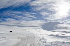 skiers (markopoulou) Tags: sun mountain snow skiing