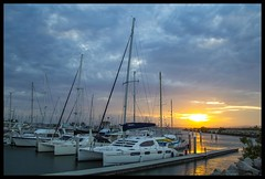 Sun setting over Deception Bay_1=