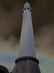 P1030437b - Minaret (JB Fotofan) Tags: turkey trkiye himmel istanbul mosque trkei cami moschee kadiky lumixfz150