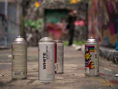 Write in White (Writeinlight) Tags: white streetart graffiti paint australia melbourne lane laneways