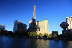 Las Vegas - 2013 (Mark Bayes Photography) Tags: france hotel paradise nevada eiffeltower casino arcdetriomphe parislasvegas parisoperahouse lasvegasstrip cityofparis lafontainedesmers montgolfierballoon lethtredesarts caesarsentertainmentcorp