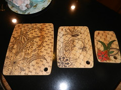 Mehndi Art Cutting Boards
