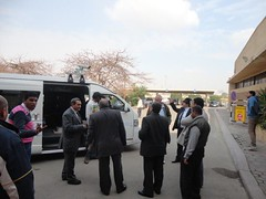 Road surveys in Egypt, 2014