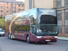 SF13FMK  Megabus Gold Vanhool (WesternSMT( Thanks for 7 Million Views !! )) Tags: gold elite panther vanhool megabus plaxton interdeck