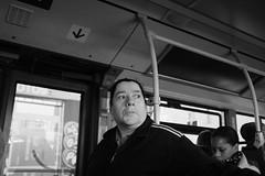 DSCF4589 (sergedignazio) Tags: street paris france bus photography blackwhite frankreich noir photographie femme nb rue francia blanc reportage フランス vif humain 法国 humaniste франция x100s