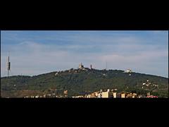 Skyline.....pero de donde ? * Tibidabo de Barcelona (jacilluch) Tags: barcelona city espaa spain europa bcn ciudad catalunya catalua tibidabo barna pelscaminsdelspaisoscatalans ctbr
