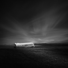 Frozen ~ Iceland's DC-3 (C-117) (Mabry Campbell) Tags: longexposure blackandwhite bw beach plane photography coast photo iceland sand europe photographer image fav50 navy fav20 explore coastal photograph le april 100 wreck scandinavia fav30 dc3 usnavy f71 squarecrop fineartphotography architecturalphotography 17mm isgm commercialphotography fav10 fav100 ef1740mmf4lusm explored 2013 fav40 fav60 architecturephotography fav90 fav80 fav70 houstonphotographer eos5dmarkiii mabrycampbell april172013 201304170h6a1140edit 3610sec