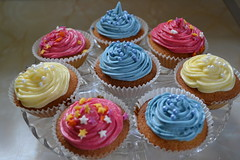 "Celebratory cupcakes • <a style=""font-size:0.8em;"" href=""http://www.flickr.com/photos/76114232@N04/13946030507/"" target=""_blank"">View on Flickr</a>"