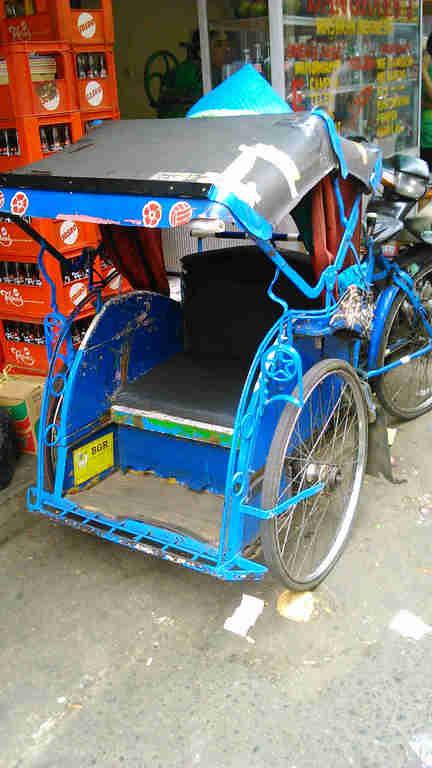 becak di Bogor