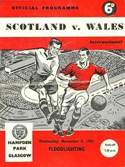 Scotland v Wales 19611108 (tcbuzz) Tags: park home scotland football championship glasgow international sfa british hampden association programme
