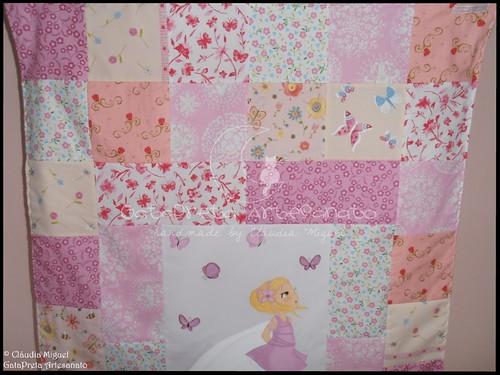 Colcha cama de grades Blooming Fairies II-3