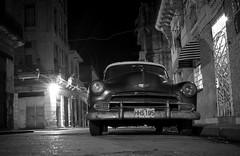 Havana - Cuba (IV2K) Tags: blackandwhite bw monochrome night sony havana cuba caribbean cuban habana kuba rx1