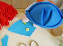 Decore como quiser (Ateliê Bonifrati) Tags: birthday carnival party cute colors diy craft carnaval festa aniversário template tutorial pap molde pompom passoapasso bonifrati