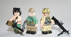 LEGO Vietnam fig barf (Keaton FillyDing) Tags: soldier pants lego fig vietnam barf figure ww2 minifig ww1 custom nam minifigure brickarms citizenbrick x39brickcustoms