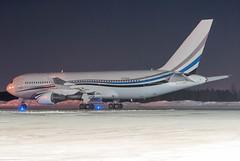 Dallas Stars 767-200 (Ychocky) Tags: night private nikkor yow dallasstars 50mmf18 cyow n767mw nhlcharter boeing767277 ottawamacdonaldcartier