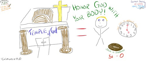 Honor God with your body, for it is the by Wesley Fryer, on Flickr
