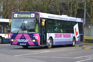 First Scania L94UB 60181 V129DND - Stockport