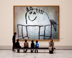 HORSE-PhotoFunia (Frizztext) Tags: horse museum drawing watercolors frizztext museumseries sletchbook photofunia