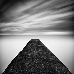"""This far you may come and no farther; here is where your proud waves halt"" (thomas bach nielsen) Tags: longexposure blackandwhite seascape square bnw 500x500 sorthvid nd110 nikond80 bwnd110 tokina1116 thomasbachnielsen"