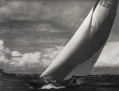 """""""Italia,"""" 1936 Olympic winner of the 8 meter class.  In Leni Riefenstahl's """"Schonheit im Olympischen Kampf"""" (1937) (lhboudreau) Tags: sports sport sailboat 1936 athletics italia photobook athletes olympics riefenstahl olympicgames hardcover photographybook sportsphotography sailboatrace olympians sailboatracing leniriefenstahl sportsevents summerolympicgames hardcovers hardcoverbooks hardcoverbook berlinolympics 1936berlinolympicgames 1936berlinolympics olympicwinner 1936summerolympics bookofphotographs 8meterclass berlinolympicgames 1936summerolympicgames schonheitimolympischenkampf imdeutschenverlag deutschenverlag beautyintheolympicgames"""