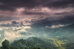 Morning In The Middle Hills (craigkass) Tags: travel nepal dhulikhel