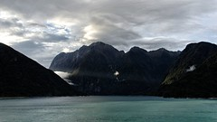 Lighting The Way (Rob McC) Tags: newzealand seascape landscape fjord milfordsound sunray