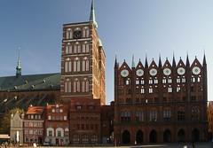 spring views in Stralsund (Christopher DunstanBurgh - on holidays!) Tags: balticsea ostsee stralsund vorpommern hanse hansestadt mecklenburgvorpommern