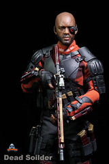 ART FIGURES AF-021 Dead Soilder - 0013 (Lord Dragon ) Tags: hot toys actionfigure doll willsmith onesixthscale deadshot 16scale artfigures 12inscale