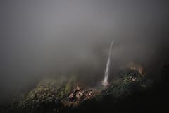 The crying beauty (Amazing Bangladesh ( Prithul )) Tags: travel cloud india canon landscape eos asia ngc falls hills cherrapunji sigma1020 nohkalikai 600d mehalaya