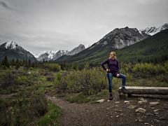 Vanessa at the Ink Pots in Banff (caleb.lee) Tags: johnstoncanyon