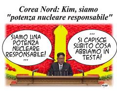 Nuclear Kim (Moise-Creativo Galattico) Tags: kim vignette satira nord attualit moise corea giornalismo nucleare dittatore editoriali moiseditoriali editorialiafumetti