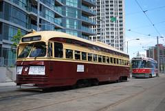 Toronto Transit Commission 4500 (apta_2050) Tags: toronto ontario vintage ttc tram transit historical harbourfront streetcar torontotransitcommission canadiancarfoundaryccfccfpccpublic