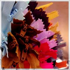 bunch of zippers (piktorio) Tags: berlin closeup germany stuff bunch bundle zippers tailor piktorio